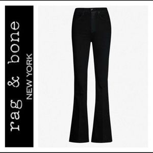 High rise jeans / flared jeans